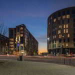 Images of the completed development at Clippers Quays.